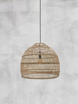 Wicker Pendant Natural Medium by HK Living