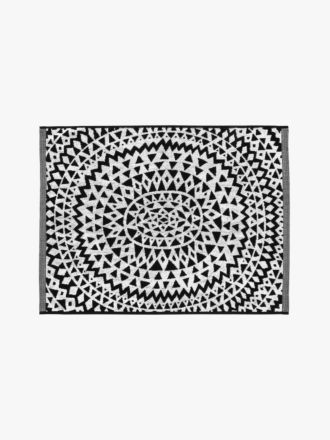 Inca Bath Mat - Black