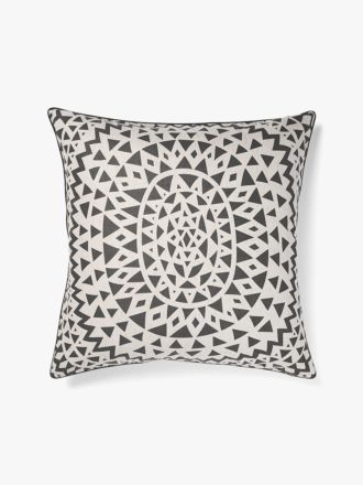 Inca European Pillowcase - Steel Grey
