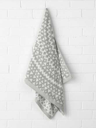 Inca Bath Towel - Dove