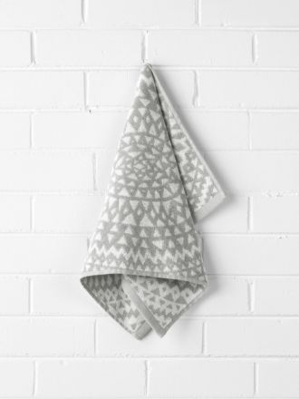 Inca Hand Towel - Dove