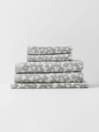 Inca Bath Towel Set - Dove