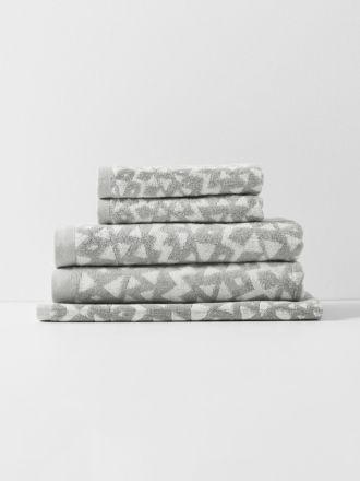 Inca Bath Towel Set - Dove
