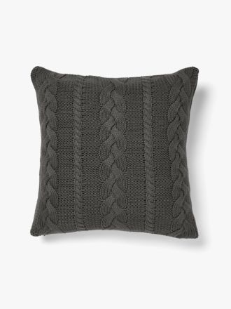 Jumbo Cable Cushion - Charcoal