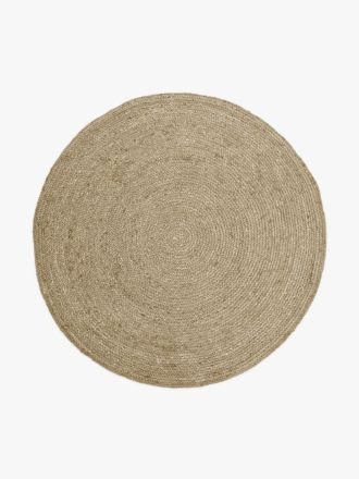 Jute Round Rug - Natural