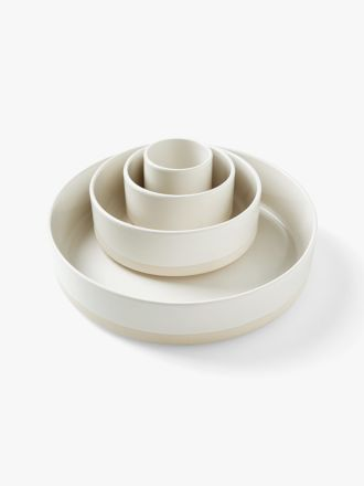 Kali Serving Bowls Set of 4 - Marshmallow
