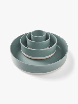 Kali Serving Bowls Set of 4 - Mist