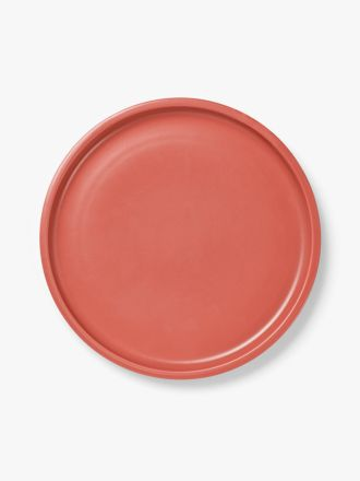 Kali Dinner Plate - Coral