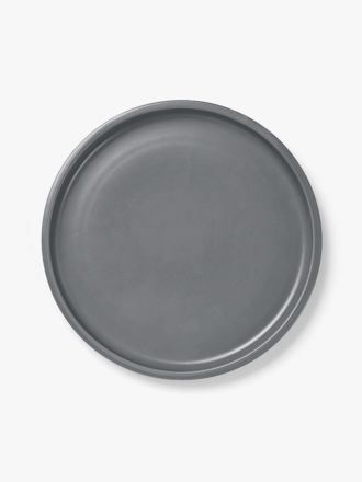 Kali Dinner Plate - Smoke