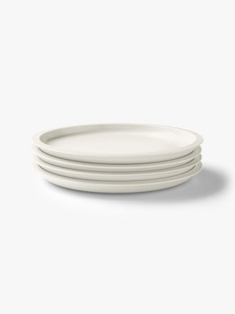 Kali Dinner Plate set of 4 - Marshmallow