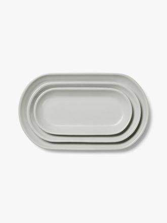 Kali Platter Set of 3 - Dove