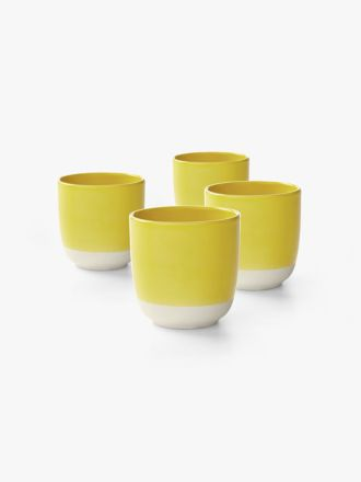 Kali Cup set of 4 - Yellow