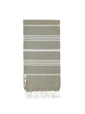 Knotty Turkish Towel - Khaki
