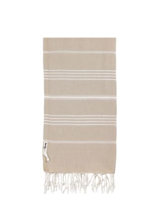 Knotty Turkish Towel - Taupe