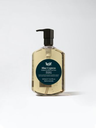 Blue Cyrpress Shampoo 500ml by Leif