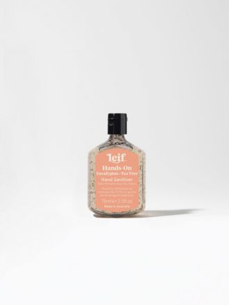 Hands-On Gel Hand Sanitiser 75ml by Leif