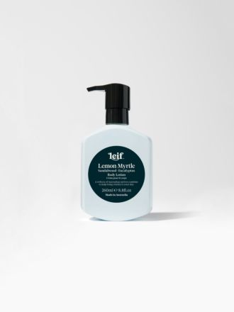 Lemon Myrtle Body Lotion 260ml by Leif
