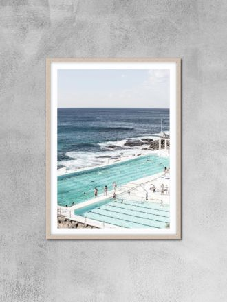 Bondi Iceberg 3 Photography Print by Love Your Space