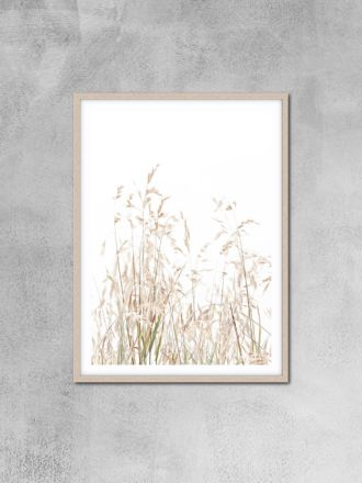 Country Grass Photography Print by Love Your Space