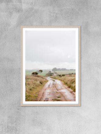 Track Photography Print by Love Your Space