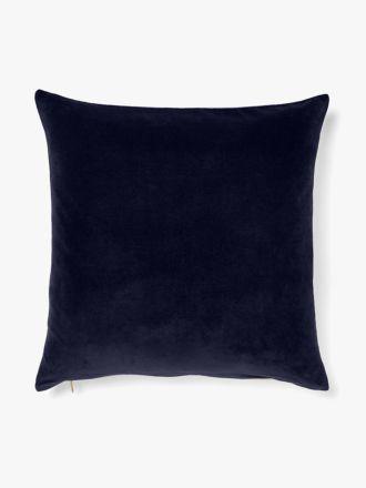 Luxury Velvet Floor Cushion - Indigo