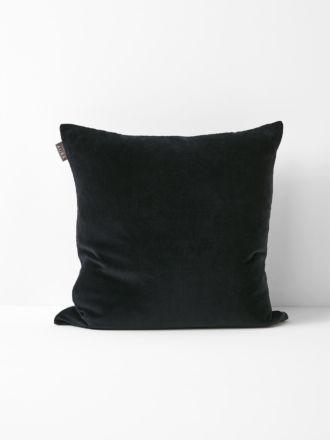 Luxury Velvet Cushion - Black