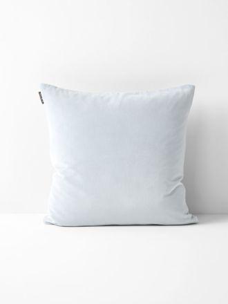 Luxury Velvet Cushion - Cloud Blue