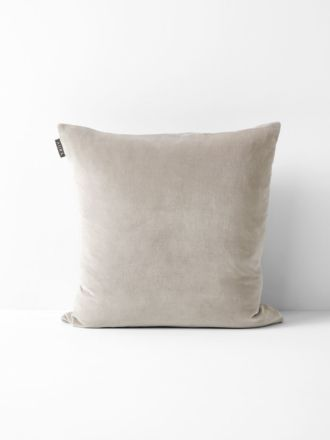 Luxury Velvet Cushion - Mink