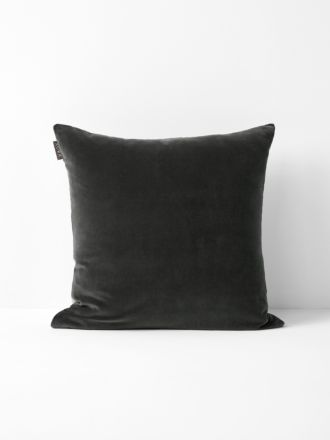Luxury Velvet Cushion - Smoke