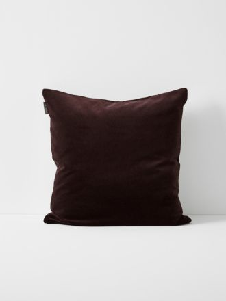 Luxury Velvet Cushion - Fig