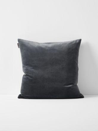 Luxury Velvet Cushion - Greystone