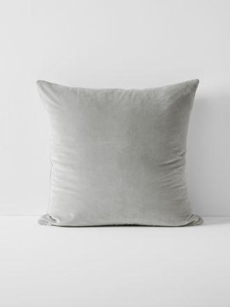 Luxury Velvet European Pillowcase - Dove