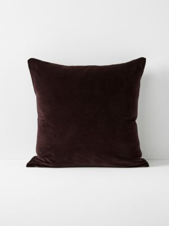 Luxury Velvet European Pillowcase - Fig