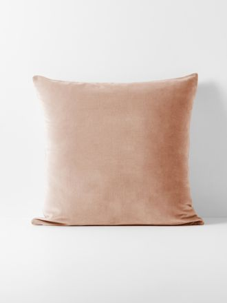 Luxury Velvet European Pillowcase - Rosewater