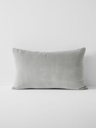 Luxury Velvet Standard Pillowcase - Dove