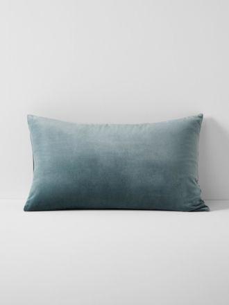 Luxury Velvet Standard Pillowcase - Eucalypt