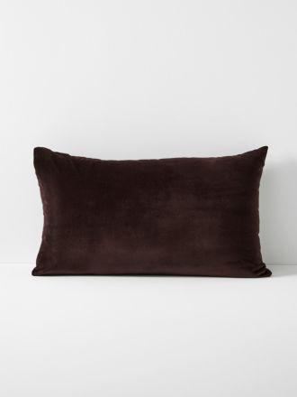 Luxury Velvet Standard Pillowcase- Fig