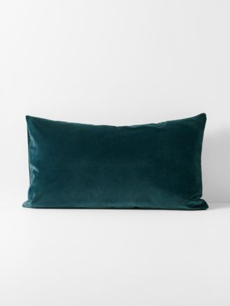 Luxury Velvet Standard Pillowcase - Indian Teal