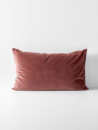 Luxury Velvet Standard Pillowcase - Mahogany