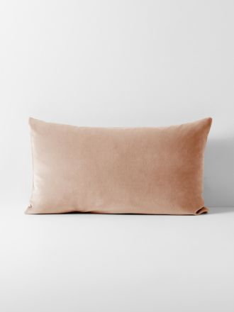 Luxury Velvet Standard Pillowcase - Rosewater