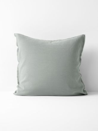 Maison Fringe European Pillowcase - Sage