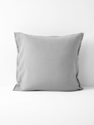Maison Fringe European Pillowcase - Smoke