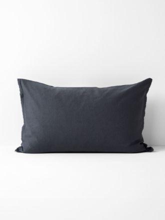 Maison Fringe Standard Pillowcase - Greystone