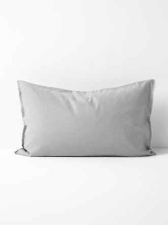 Maison Fringe Standard Pillowcase - Smoke