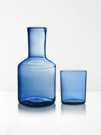 Carafe & Glass by Maison Balzac - Azure