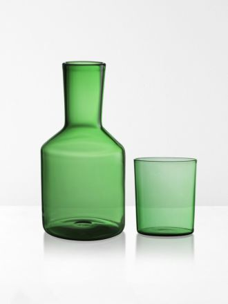 Carafe & Glass by Maison Balzac - Green