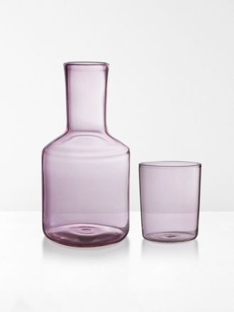 Carafe & Glass by Maison Balzac - Pink
