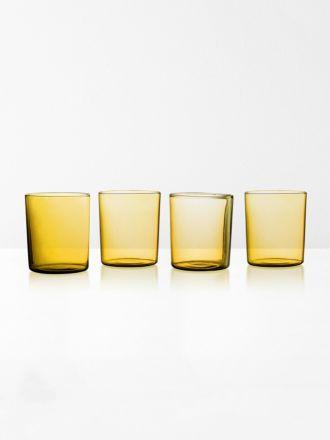 Glasses Set of 4 by Maison Balzac - Miel