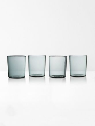 Glasses set of 4 | Maison Balzac - Smoke