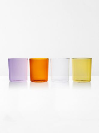 Glasses Set of 4 by Maison Balzac - Summer Set